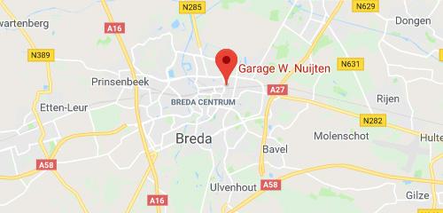 Garagebedrijf Wim Nuijten - Contact & Route